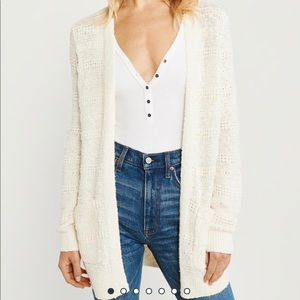Abercrombie & Fitch Easy Stitched Cardigan